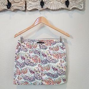 ZARA floral mini
